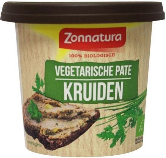 Zonnatura Pate vegetarisch tuinkruiden afbeelding