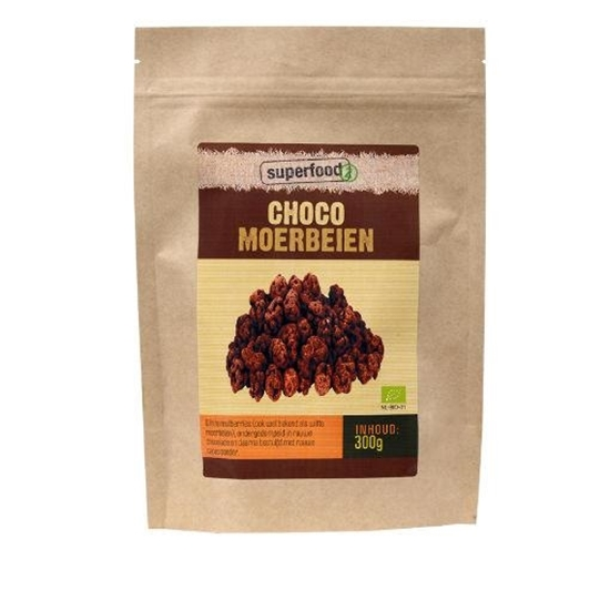 Superfoodz Choco moerbeien bio raw afbeelding