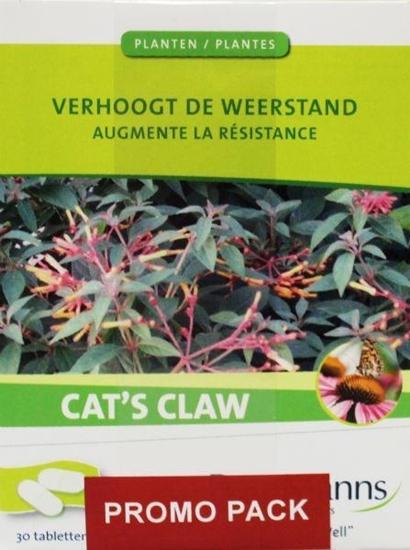 Buurmanns Cat's claw 3 x 30 tabletten afbeelding