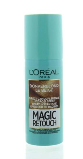 LOreal Magic retouch beige 04 spray afbeelding