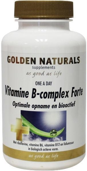 Golden Naturals Vitamine B complex forte afbeelding