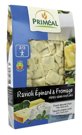 Primeal Ravioli spinazi kaas afbeelding