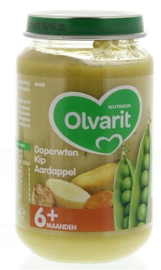 Olvarit Doperwten kip aardappel 6M06 afbeelding