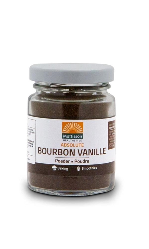 Bourbon vanilla poeder afbeelding