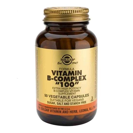 "Solgar Vitamins Vitamin B-complex ""100"" afbeelding"