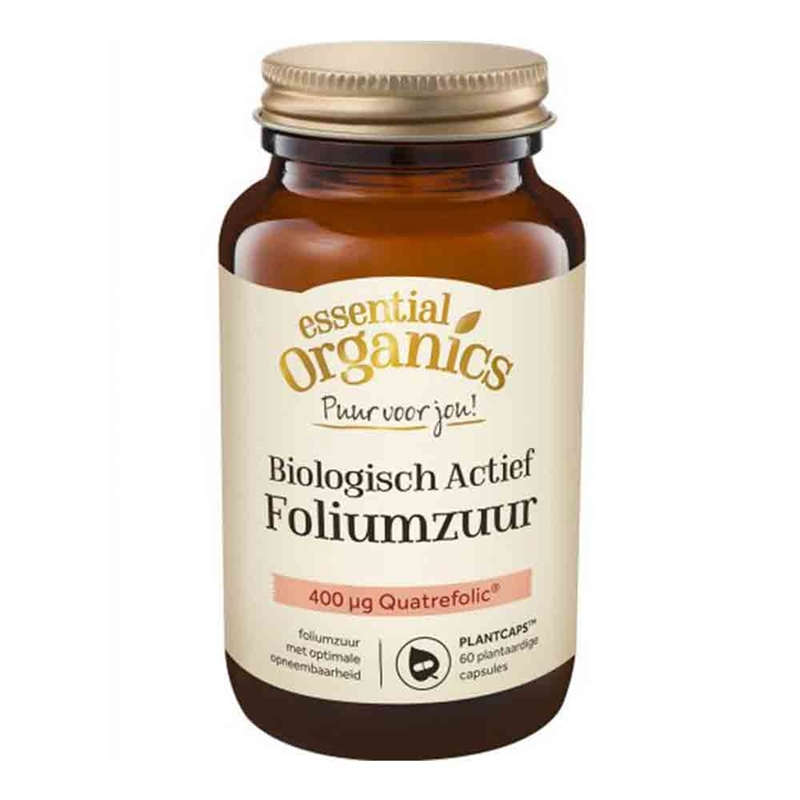 Eo Puur Biologisch Actief Foliumzuur Kopen Vitaminstorenl