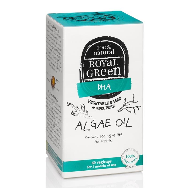 Royal Green Algenolie DHA 200 mg afbeelding