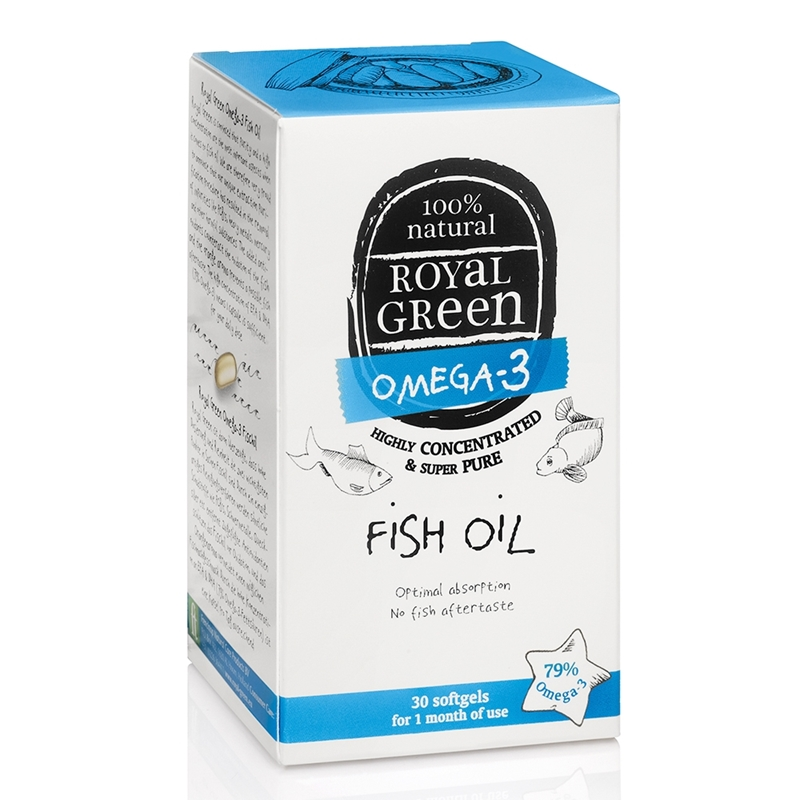 Royal Green Royal Green Omega 3 Visolie afbeelding