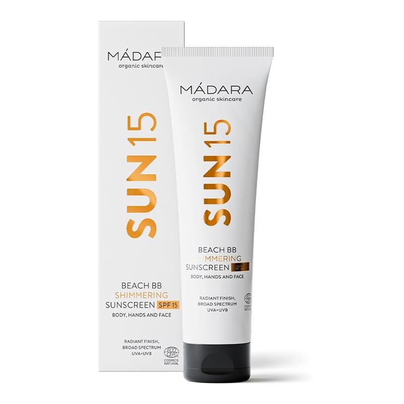 MADARA Beach BB Shimmering Sunscreen SPF15 afbeelding