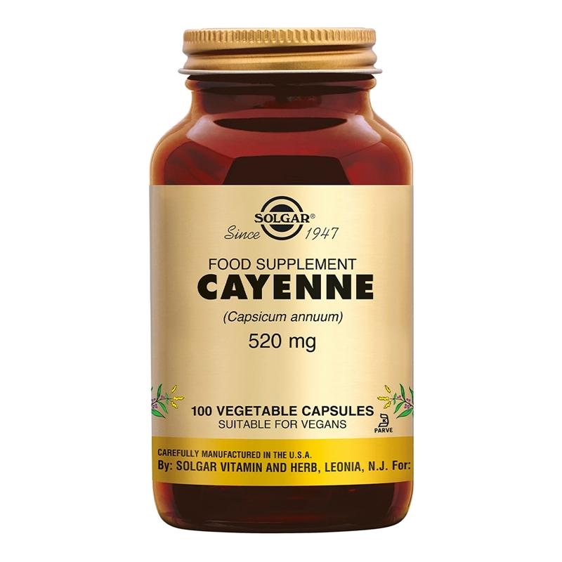 Solgar Vitamins Cayenne (Spaanse peper) afbeelding