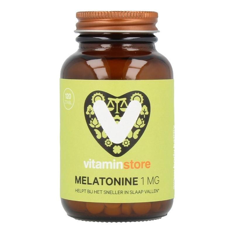 Vitaminstore Melatonine 1 mg afbeelding