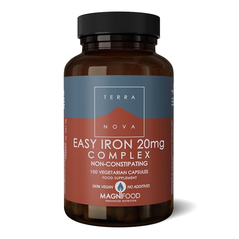 Terranova Easy iron 20 mg complex afbeelding