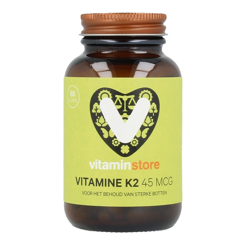 Vitaminstore Vitamine K2 45 mcg (VitaMK7) afbeelding